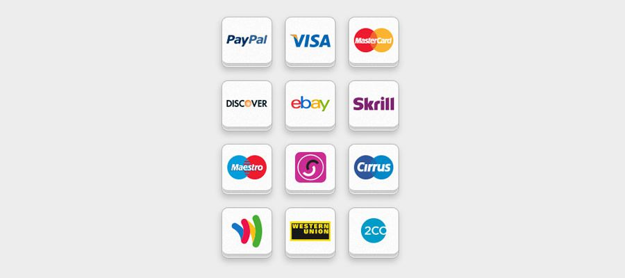 Free Online Payment Icon Set psd png