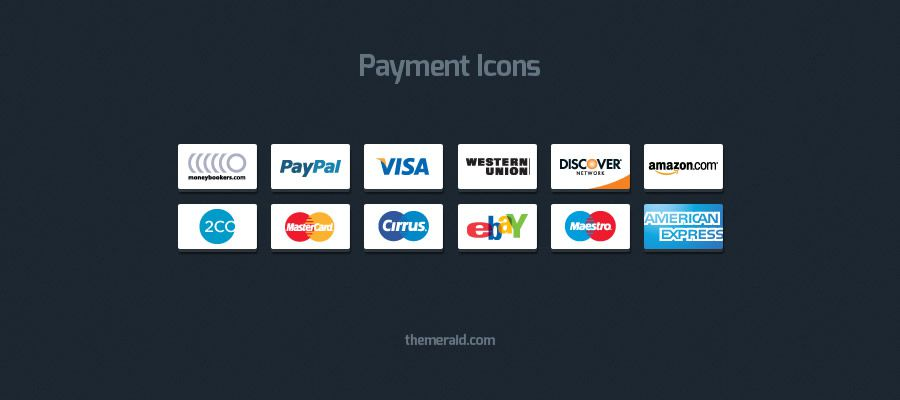 Online Payment Icons psd