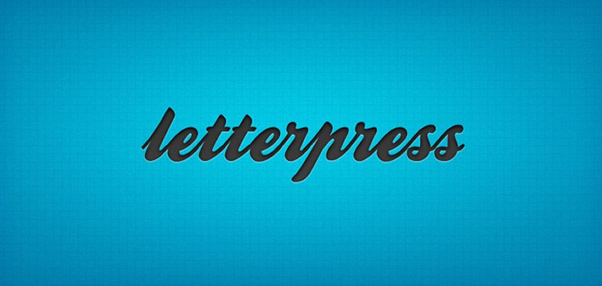Free Photoshop Layer Styles PSD Photoshop Letterpress Text Effect Template