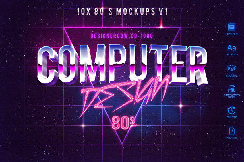 80s-Style-Text