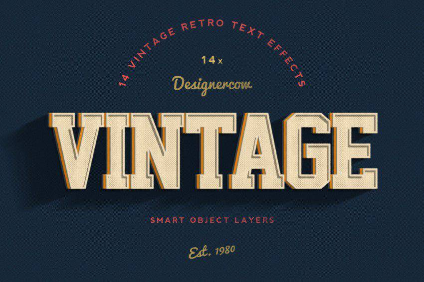 14-Vintage-Retro-Text-Effects